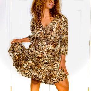 Jolibel VINTAGE animal print dress